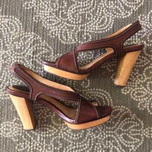 👡 Frye slingback leather sandals
